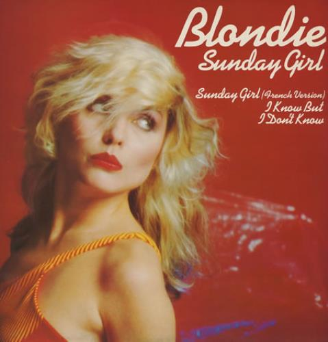 "Blondie Sunday Girl 12"" vinyl single (12 inch record / Maxi-single) UK BLO12SU18675"