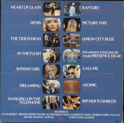 Blondie The Best Of Blondie vinyl LP album (LP record) Swedish BLOLPTH733619