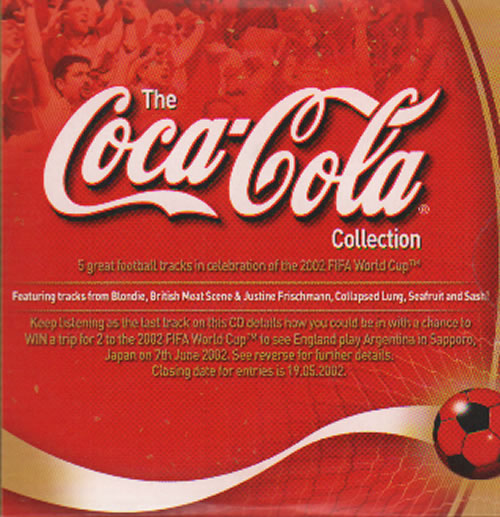 "Blondie The Coca-Cola Collection 3"" CD single (CD3) UK BLOC3TH635253"