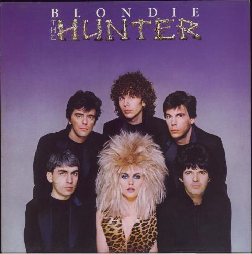 Blondie The Hunter vinyl LP album (LP record) UK BLOLPTH290328