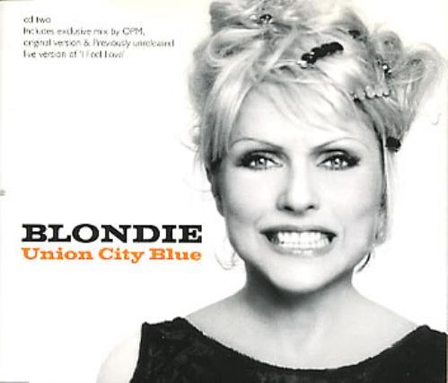 """Blondie Union City Blue - Part 2 CD single (CD5 / 5"""") UK BLOC5UN55160"""