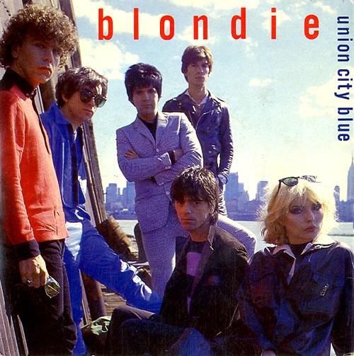 "Blondie Union City Blue 7"" vinyl single (7 inch record) UK BLO07UN44708"
