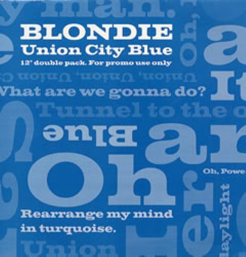 """Blondie Union City Blues - Double Pack 12"""" vinyl single (12 inch record / Maxi-single) UK BLO12UN53797"""