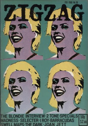 Blondie Zig Zag Magazine No. 98 magazine UK BLOMAZI767650