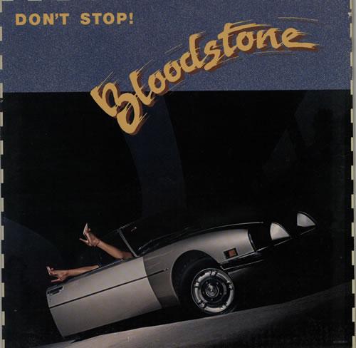 Bloodstone Don't Stop! vinyl LP album (LP record) US 7BLLPDO624923
