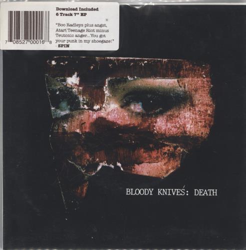 "Bloody Knives Death EP 7"" vinyl single (7 inch record) US 3S707DE768673"