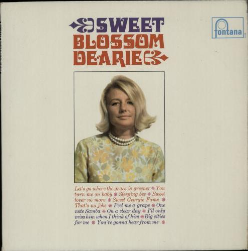 Blossom Dearie Sweet Blossom Dearie vinyl LP album (LP record) UK ODELPSW511889