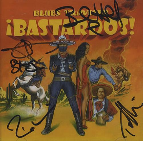 Blues Traveler Bastardos! - AUTOGRAPHED CD album (CDLP) US BTVCDBA360767