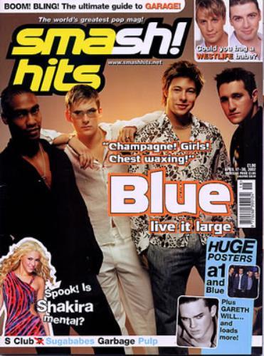 Blue (00s) Smash Hits & Top Of The Pops UK magazine (335626) MAGAZINES