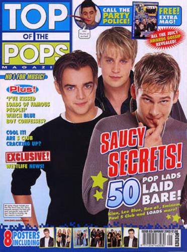 Blue (00s) Smash Hits & Top Of The Pops UK magazine (335626) MAGAZINES