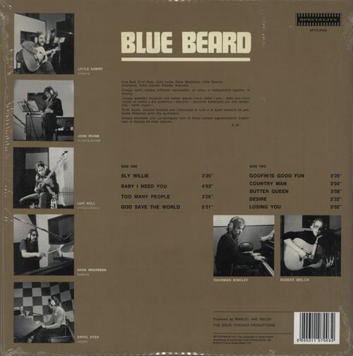 Blue Beard Blue Beard vinyl LP album (LP record) UK E1VLPBL581628