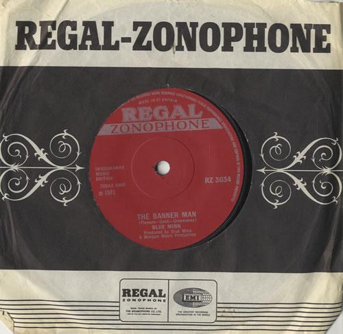 "Blue Mink The Banner Man 7"" vinyl single (7 inch record) UK 4BM07TH567693"