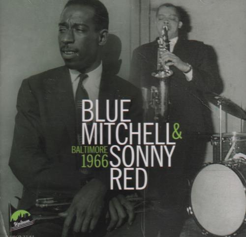 Blue Mitchell Baltimore 1966 CD album (CDLP) US BM1CDBA670608