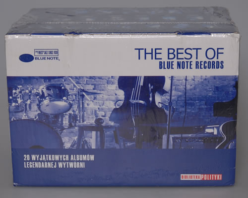Blue Note The Best Of Blue Note Records - Sealed + Box CD Album Box Set Polish BTEDXTH574480