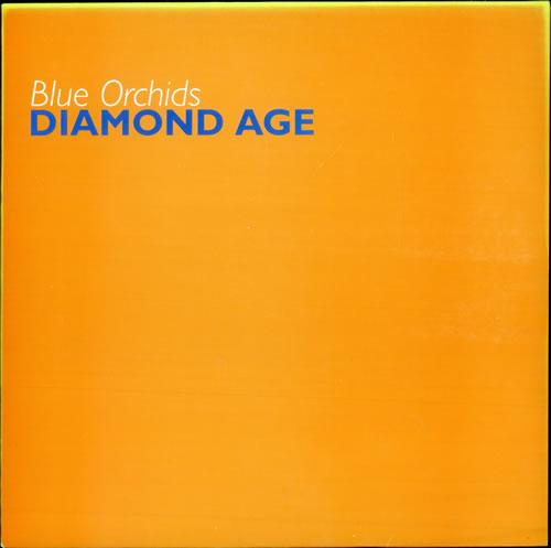 """Blue Orchids Diamond Age 12"""" vinyl single (12 inch record / Maxi-single) UK BCV12DI501317"""