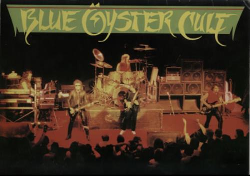 Blue Oyster Cult 1985 Tour Programme tour programme UK BOCTRTO184813
