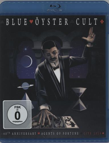 Blue Oyster Cult Agents of Fortune 40th Anniversary Blu Ray DVD Italian BOCBRAG759037
