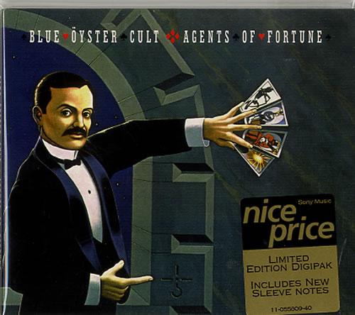 Blue Oyster Cult Agents Of Fortune CD album (CDLP) UK BOCCDAG626126