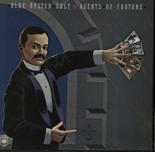 Blue Oyster Cult Agents of Fortune vinyl LP album (LP record) UK BOCLPAG757366