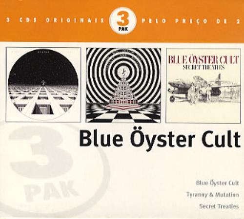 Blue Oyster Cult Blue Oyster Cult 3-CD album set (Triple CD) Brazilian BOC3CBL286219