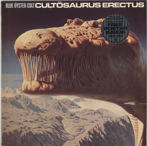Blue Oyster Cult Cultosaurus Erectus - Complete vinyl LP album (LP record) UK BOCLPCU453822