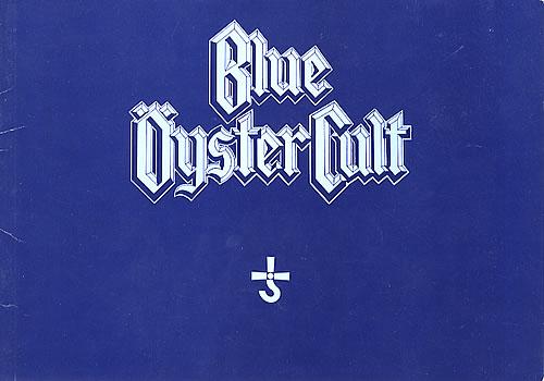 Blue Oyster Cult Mirrors Tour tour programme UK BOCTRMI359381
