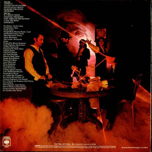 Blue Oyster Cult Spectres vinyl LP album (LP record) UK BOCLPSP309241
