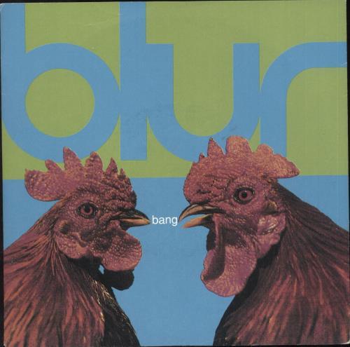 "Blur Bang 7"" vinyl single (7 inch record) UK BLR07BA35671"