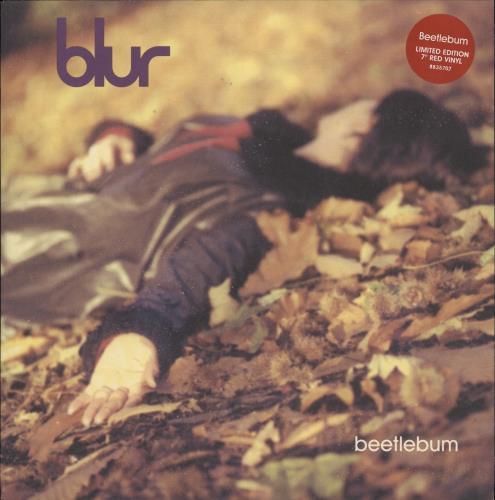"Blur Beetlebum - Red Vinyl - EX 7"" vinyl single (7 inch record) UK BLR07BE726069"