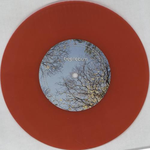 "Blur Beetlebum - Red Vinyl 7"" vinyl single (7 inch record) UK BLR07BE79432"