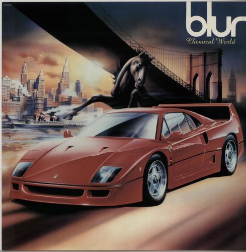 "Blur Chemical World + Print 12"" vinyl single (12 inch record / Maxi-single) UK BLR12CH143604"