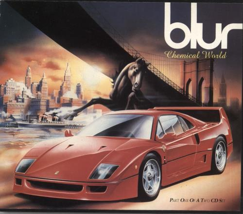 """Blur Chemical World - CD1 CD single (CD5 / 5"""") UK BLRC5CH51142"""