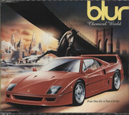 """Blur Chemical World - CD2 CD single (CD5 / 5"""") UK BLRC5CH34758"""