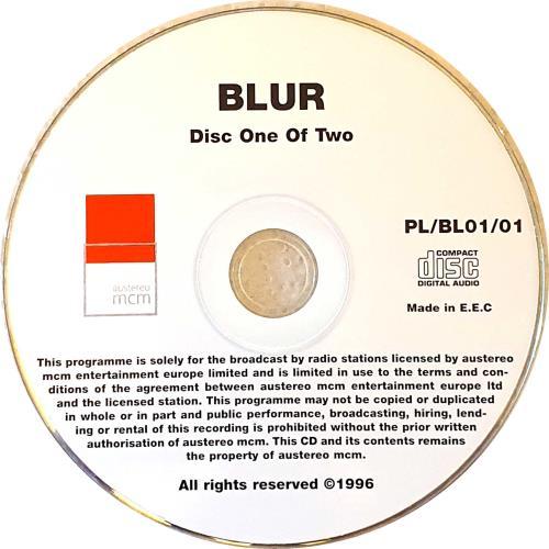 Blur Coca Cola Planet Live 2 CD album set (Double CD) Austrian BLR2CCO82007