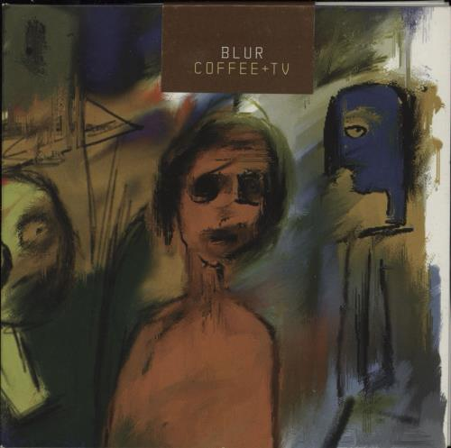 "Blur Coffee + TV - Sticker Sealed CD single (CD5 / 5"") UK BLRC5CO540727"