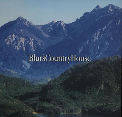 "Blur Country House CD single (CD5 / 5"") UK BLRC5CO50668"