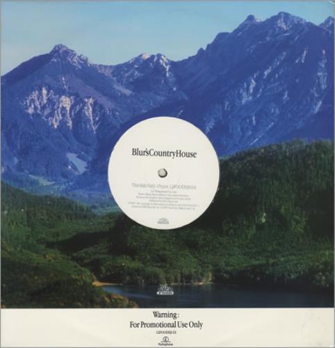 "Blur Country House 12"" vinyl single (12 inch record / Maxi-single) UK BLR12CO51388"