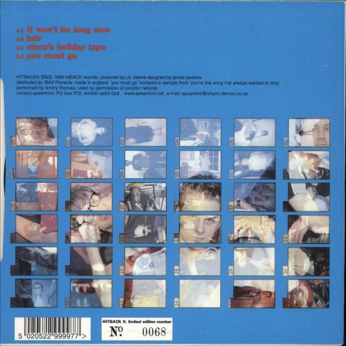 "Blur Crazy Beat CD single (CD5 / 5"") US BLRC5CR241185"