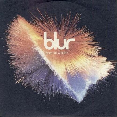 """Blur Death Of A Party CD single (CD5 / 5"""") UK BLRC5DE100229"""