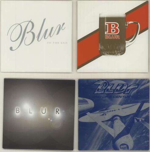 "Blur Eight Promotional CD Singles CD single (CD5 / 5"") UK BLRC5EI685167"