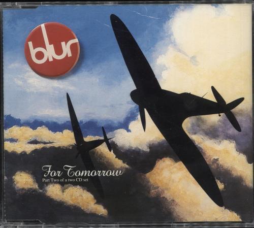 "Blur For Tomorrow - CD2 CD single (CD5 / 5"") UK BLRC5FO17310"