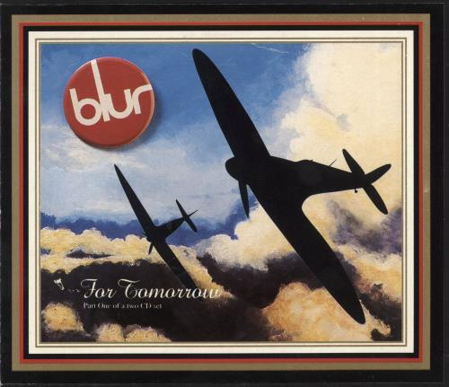 "Blur For Tomorrow - Part 1 CD single (CD5 / 5"") UK BLRC5FO17311"