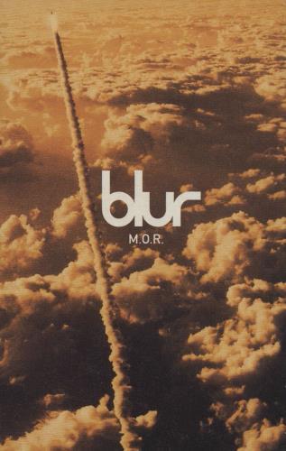 Blur M.O.R. cassette single UK BLRCSMO121722