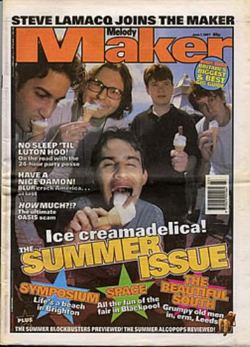 Blur Melody Maker magazine UK BLRMAME295602