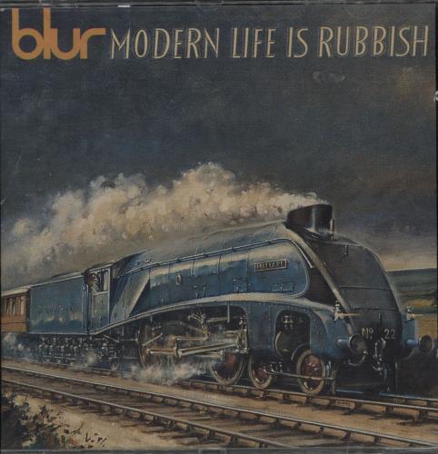 Blur Modern Life Is Rubbish CD album (CDLP) Italian BLRCDMO752113