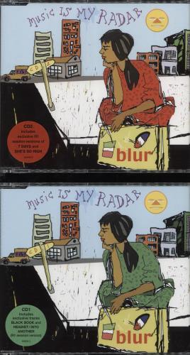 Blur Music Is My Radar - 2xCD set 2-CD single set (Double CD single) UK BLR2SMU168158