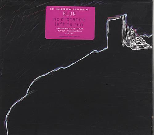 "Blur No Distance Left To Run - CD1 CD single (CD5 / 5"") UK BLRC5NO249830"