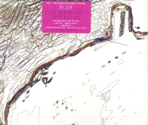 "Blur No Distance Left To Run - CD2 CD single (CD5 / 5"") UK BLRC5NO175748"