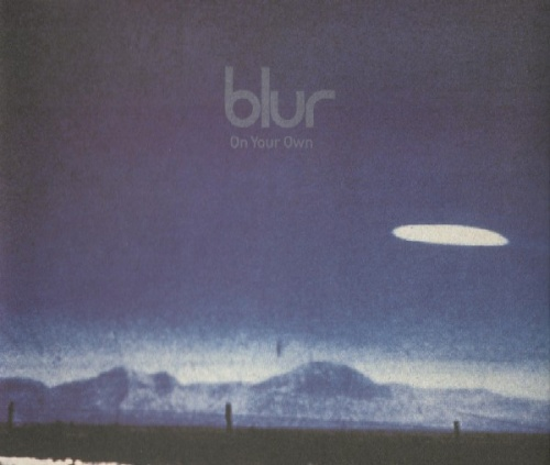 """Blur On Your Own - CD1 CD single (CD5 / 5"""") UK BLRC5ON87764"""