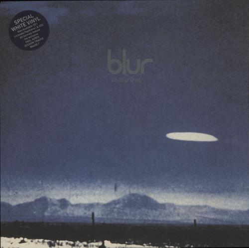 """Blur On Your Own - White Vinyl 7"""" vinyl single (7 inch record) UK BLR07ON87763"""